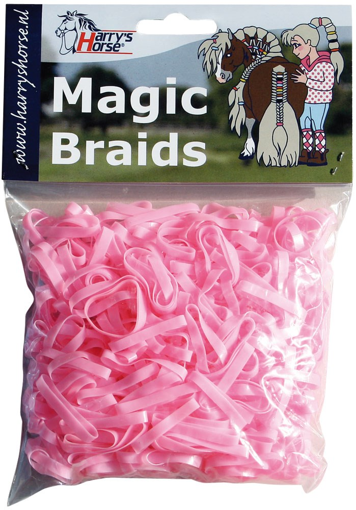 Manen elastiekjes Magic braids