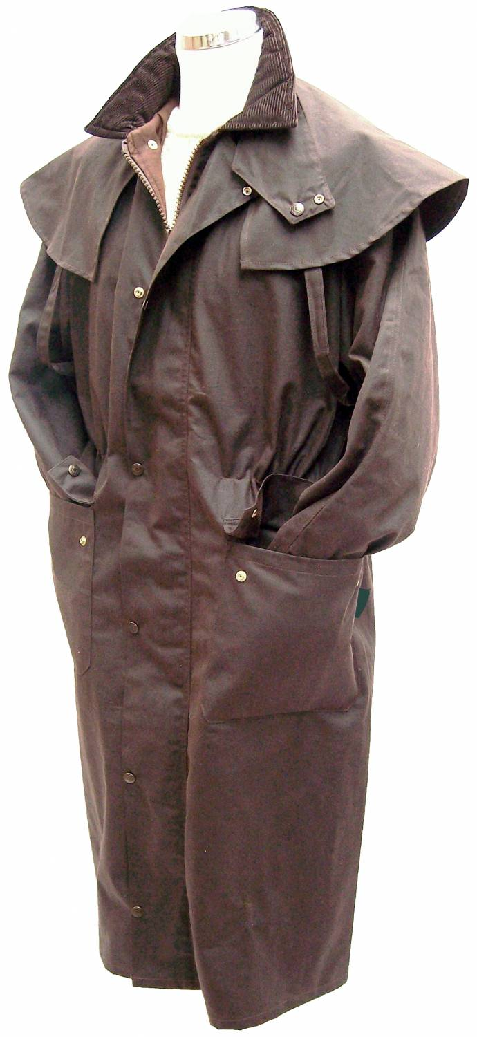 Terra Australia Wax Bush rainCoat Long