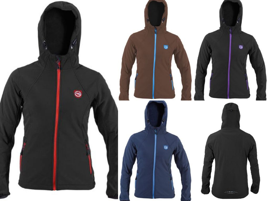 Lady's softshell jacket waterproof