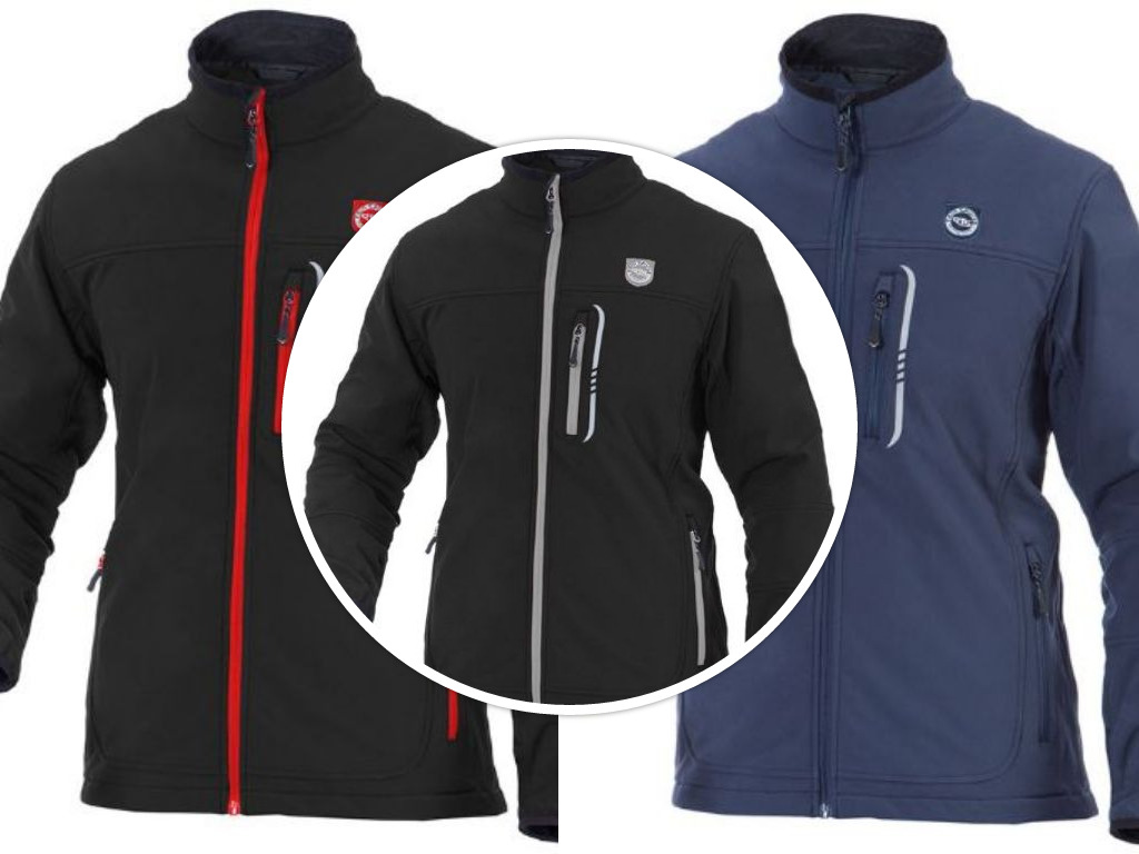 Men softshell jacket waterproof